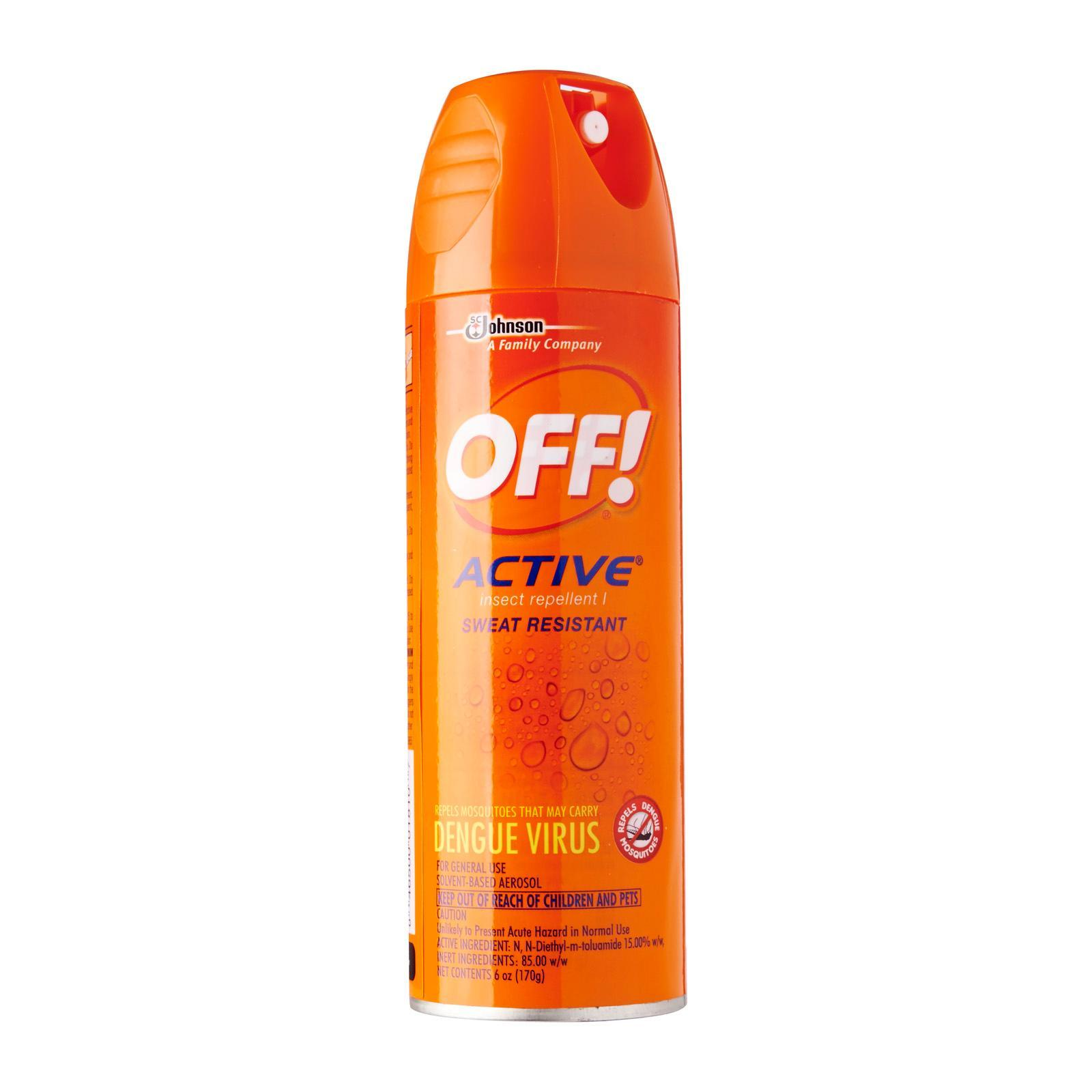 Off! Aerosol Spray Insect Repellent By Redmart.