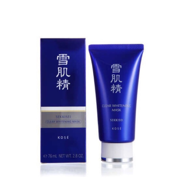 Buy Kose Clear Whitening Mask 80g (with or without box) - SHICARA Singapore