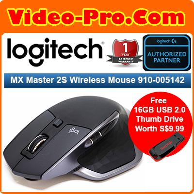 [Free 16GB Thumb Drive] Logitech MX Master 2S Wireless Mouse 910-005142
