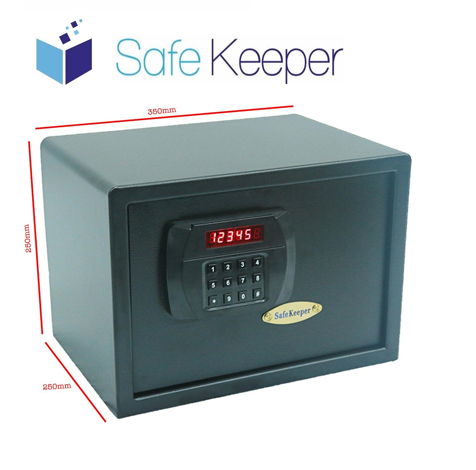 SafeKeeper SK2535 Medium Safe ( 100% New Product! Color: Black ) (3 Working Days) (100% Brand New Product)