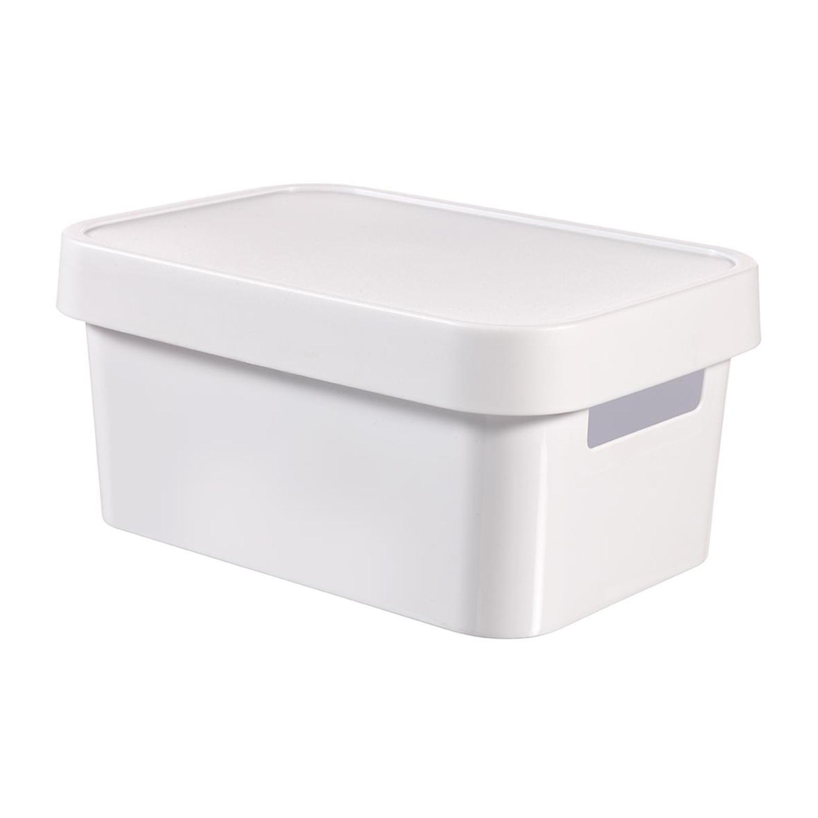 Curver Infinity Box With Lid White
