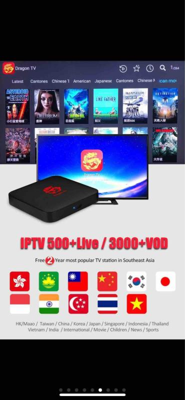 Dragon Tv Box 2019 ( One Time Payment )