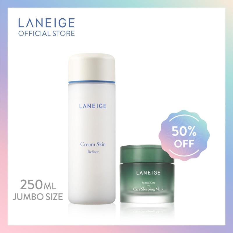 Buy [Dream Team Set] LANEIGE Cream Skin Refiner 250ml - Jumbo Singapore