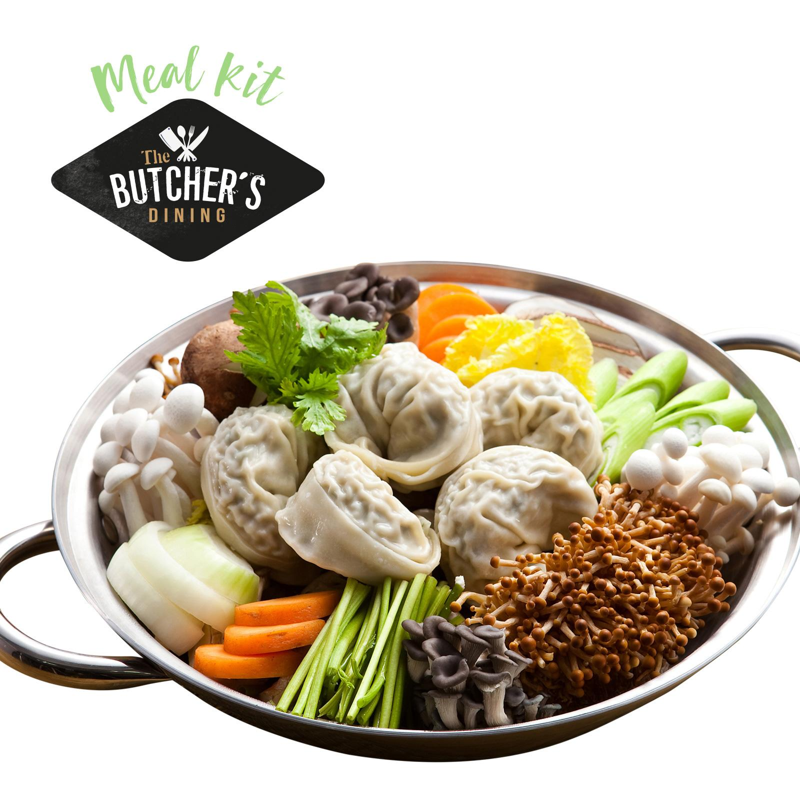 The Butcher's Dining Seoul Dumpling Stew - Frozen