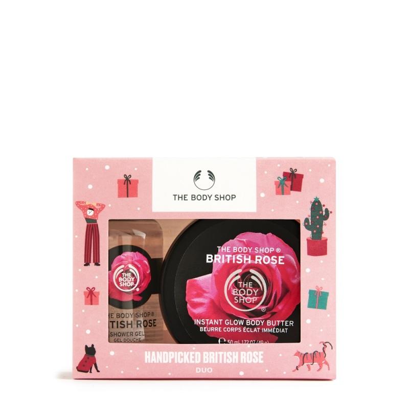 Buy The Body Shop Handpicked British Rose Duo (Christmas Gift Set) Singapore