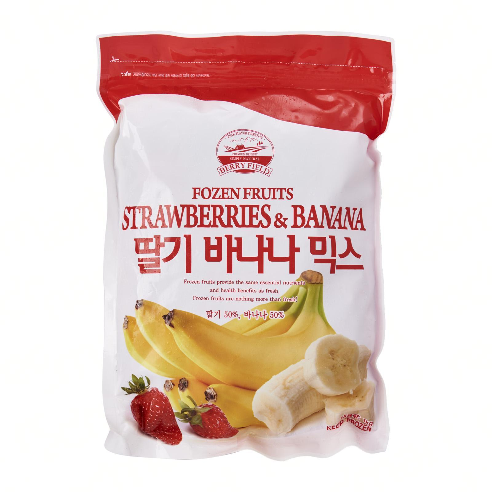 Berry Field Strawberry and Banana Mix - Frozen