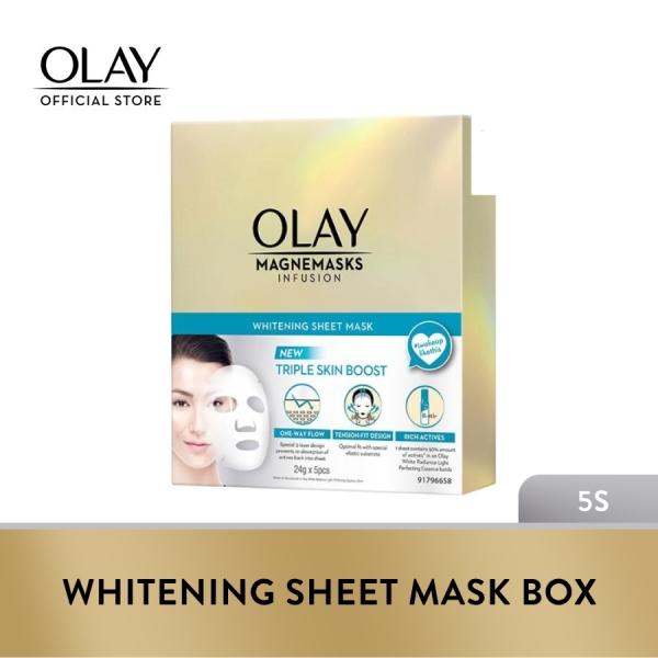 Buy Olay Magnemask Infusion Whitening Sheet Mask (Box of 5pcs) Singapore