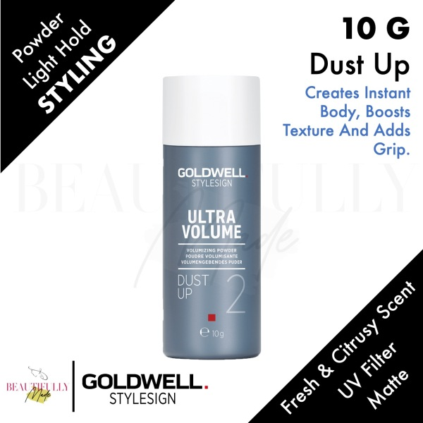Buy Goldwell Style Signs Ultra Volume Dust Up Volumizing Powder 10g - Creates instant body, boosts texture and adds grip Singapore