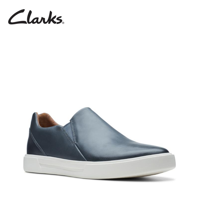 329c796d781eb CLARKS Un Costa Step Dark Blue Leather Mens Sport