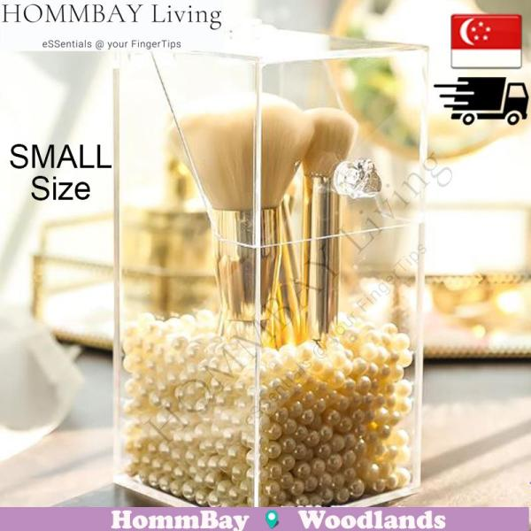 Buy HOMMBAY Living Makeup Make up Acrylic Clear Transparent Lipstick Cosmetic Brush Brushes Jewellery Jewelry Earrings Bracelets Rings Organiser Organizer Drawer Storage Box Holder I Small I Small Brush Organizer (Purchase Pearls if Required) Singapore