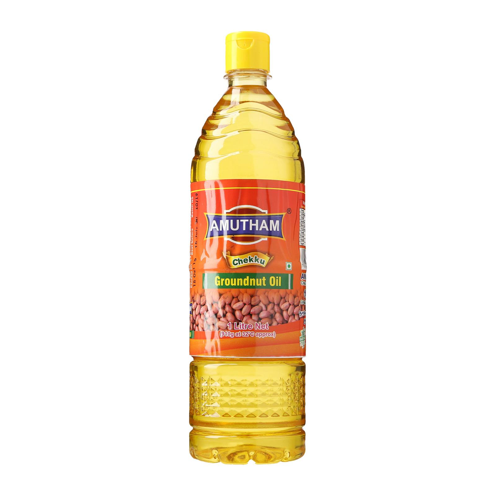 Amutham Chekku Cold Pressed Groundnut Oil