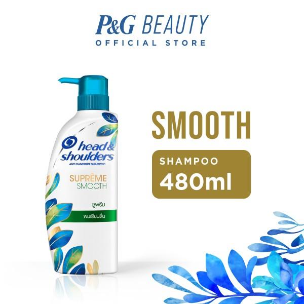 Buy Head & Shoulders Supreme Smooth Anti-Dandruff Shampoo 480ml Singapore