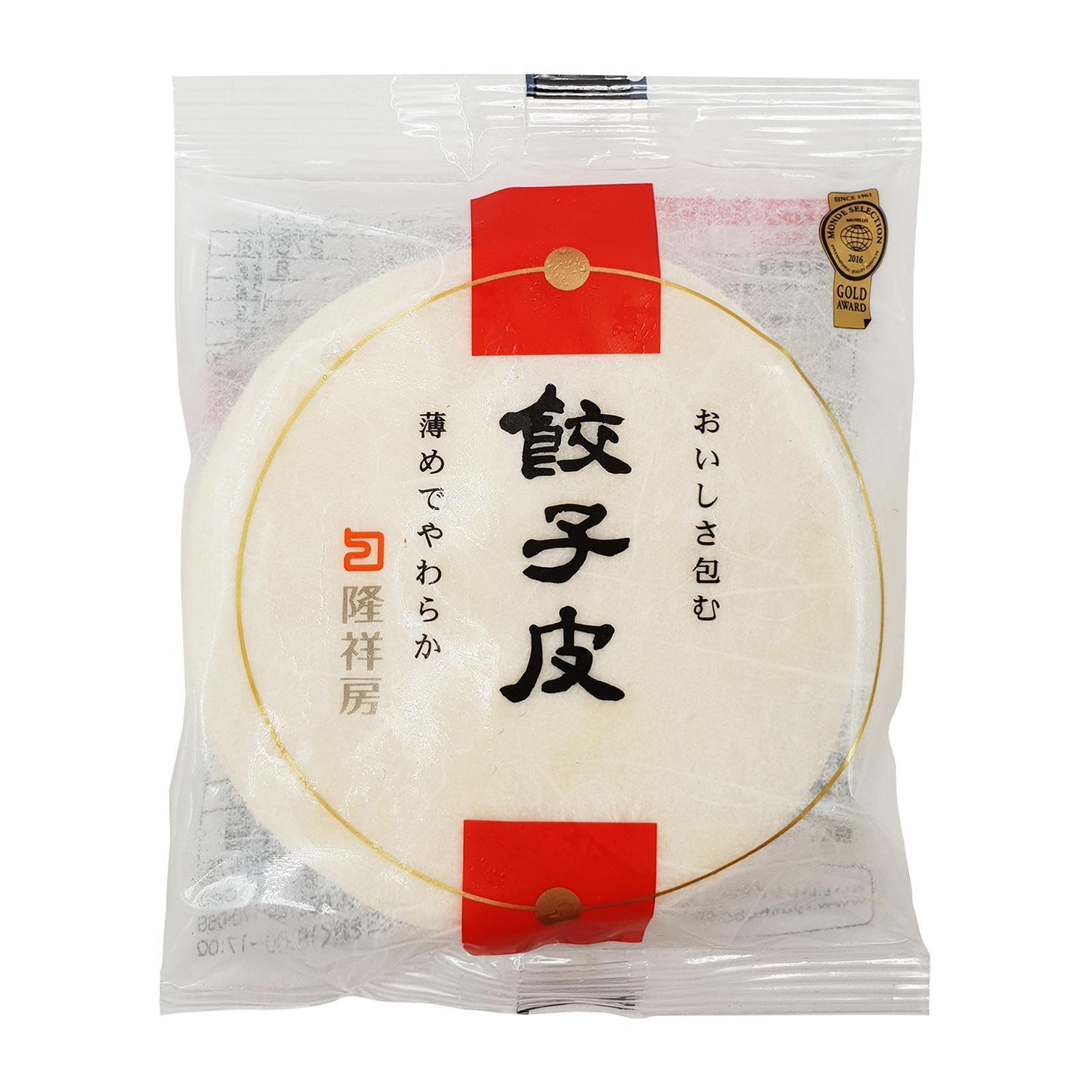 Ryushobo Gyoza Pan Fried Dumpling Skin Wrap 25p - Frozen