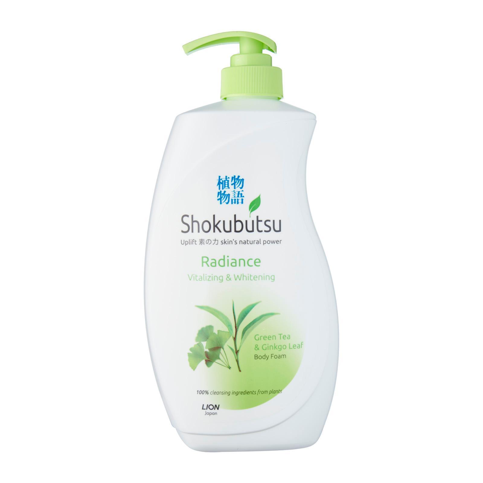 Shokubutsu Radiance Body Foam - Vitalizing and Whitening