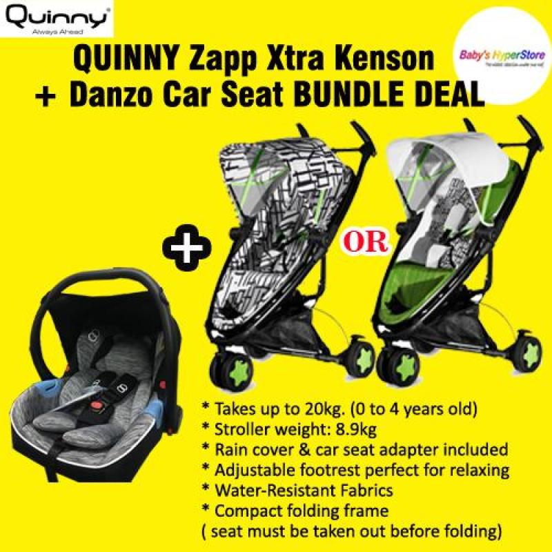 QUINNY Zapp Xtra Kenson + Danzo Car Seat BUNDLE DEAL Singapore