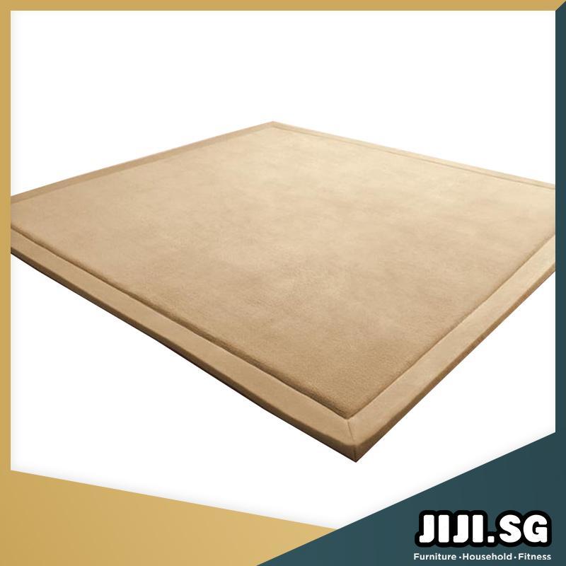 JIJI 180 x 200 cm Floor Carpets: Japan Coral Velvet Floor Carpet 180 x 200 cm (Carpet)