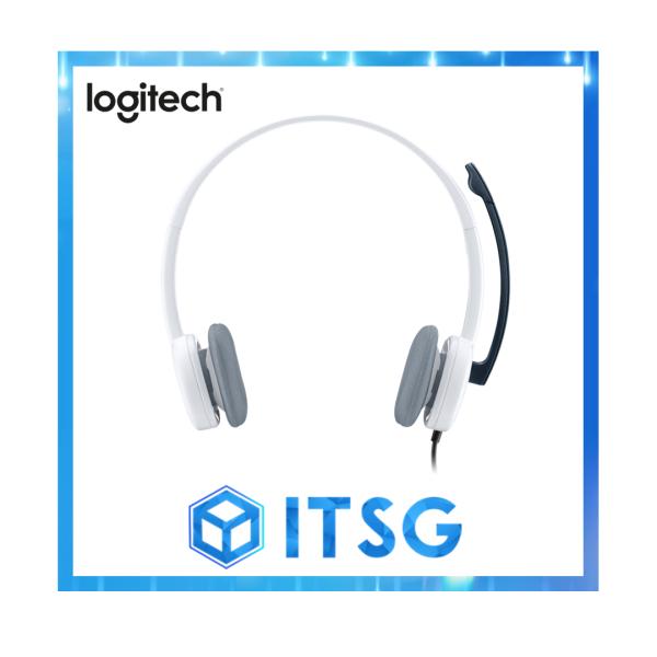 Logitech H150 Dual-Jack Stereo Headset (Local 2 Yr Warranty) Singapore