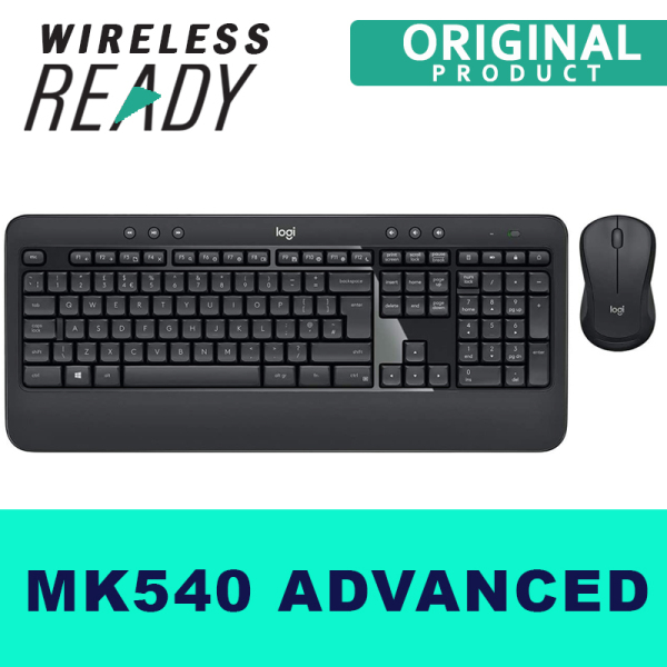Logitech MK540 Advanced, Wireless Keyboard and Mouse Set  2.4 GHz Singapore