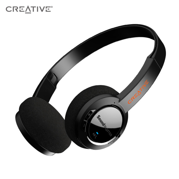 Sound Blaster JAM V2 On-Ear Lightweight Bluetooth 5.0 Wireless Headphones with USB-C, aptX Low Latency, aptX HD, Multipoint Connectivity, Voice Detection and Noise Reduction, 22 Hours Battery Life Singapore