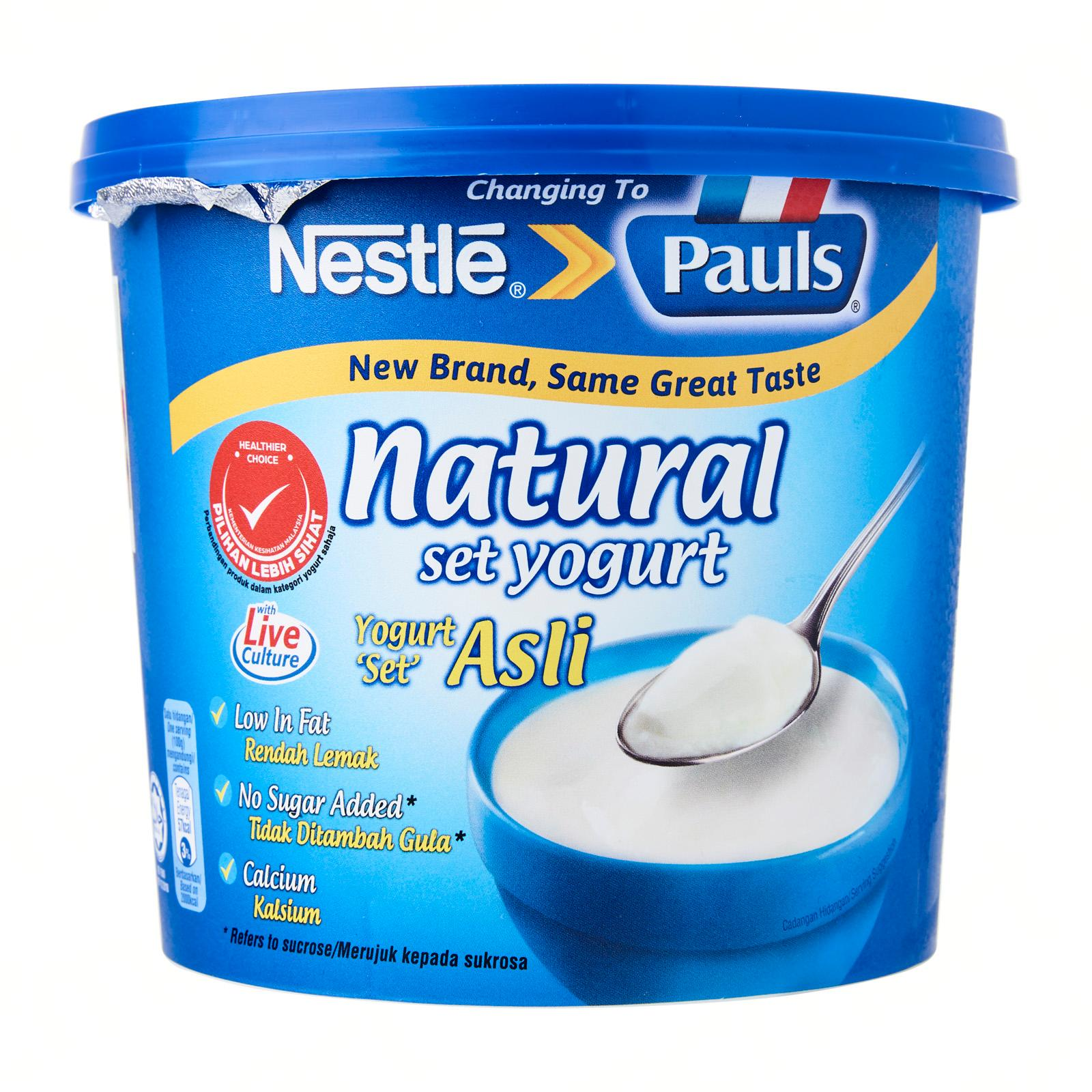 NESTLE Pauls Natural Set Yogurt