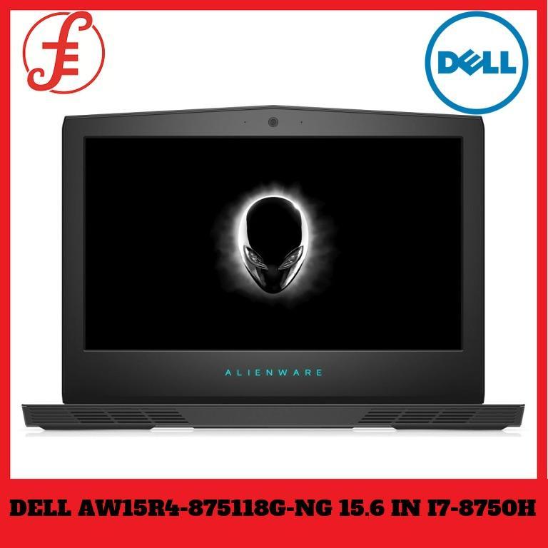 DELL AW15R4-875118G-NG 15.6 IN INTEL CORE I7-8750H 16GB 1TB 256GB SSD WIN 10