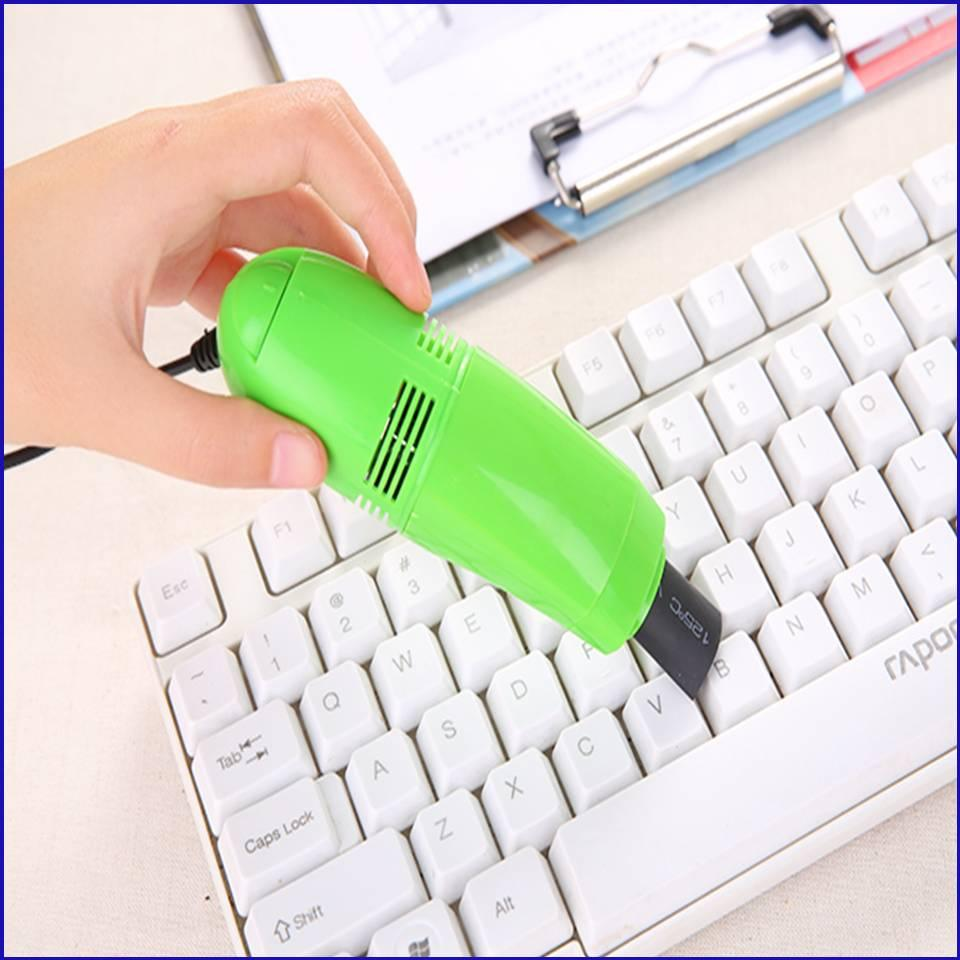 Vacuum USB Cleaner Laptop Notebook Keyboard Car Mini Computer Dust PC Brush Cleaning Kit Bagless