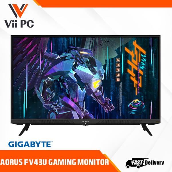 [PRE-ORDER]Gigabyte AORUS FV43U 43 16:9 4K Quantum Dot 144 Hz HDR VA Gaming Monitor