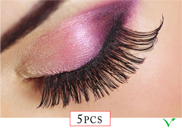 Buy ALIVER five pairs of thickened encrypted false eyelashes semi-manual by V-Ace Marketing Singapore