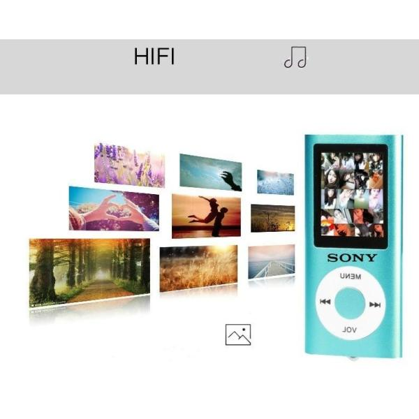 Sony 1.8 Inch Mp3 Player Music Playing with Fm Radio Video Player E-book Player MP3 Singapore