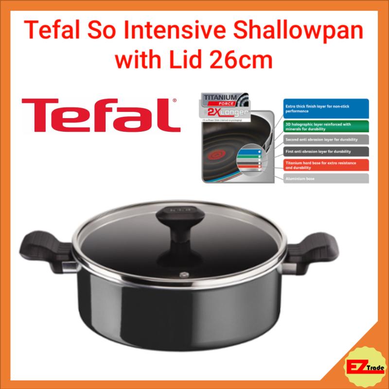 TEFAL SO INTENSIVE SHALLOWPAN 26CM W/LID D50371 Singapore