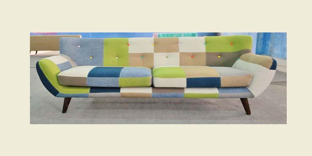SFF241 UB Fabric 2 Seaters Sofa set