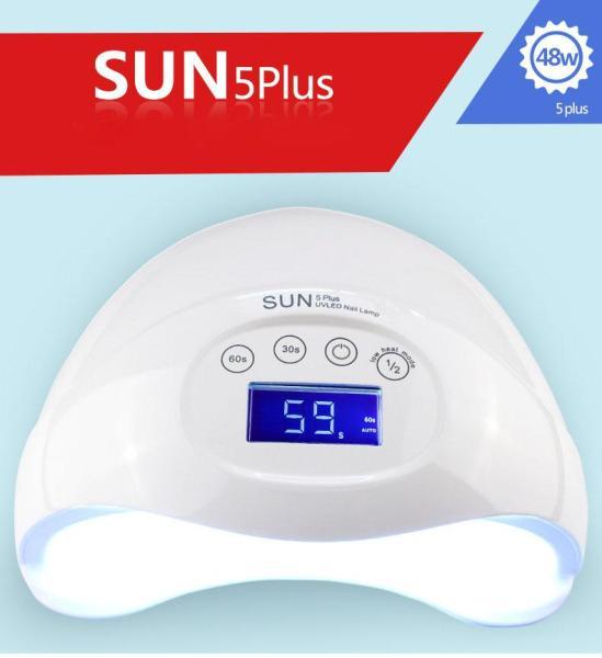 Buy SUNUV  48W SUN5plus Professional LED UV Nail Lamp Led Nail Light Nail Dryer [White]-intl Singapore