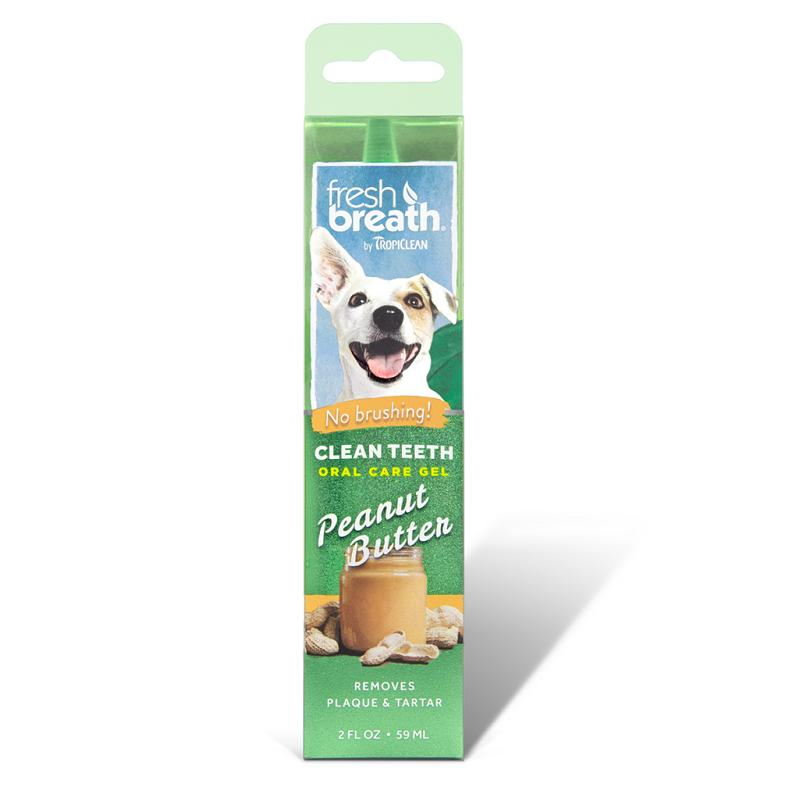 Tropiclean Peanut Butter Fresh Clean Teeth Oral Care Gel For Dogs By Singpet.