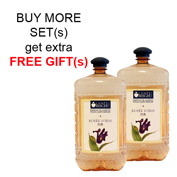 Buy LAMPE BERGER LB ESSENTIAL OIL 2L SET (2 BOTTLES) - ROSEE DIRIS (玫瑰) Singapore