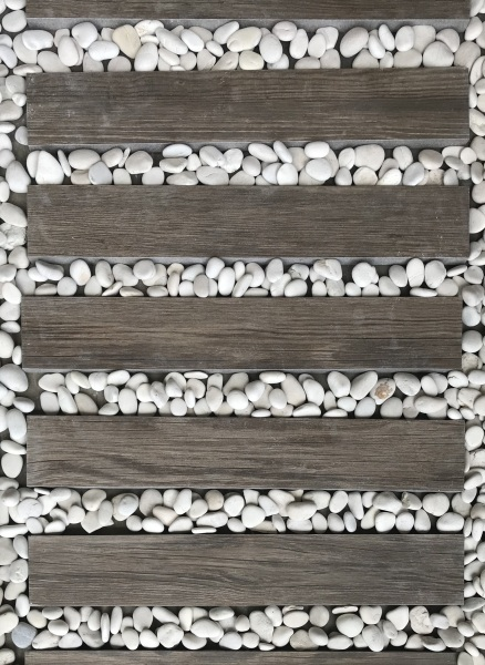 Wood Tiles Size 10pieces 600x100x20mm