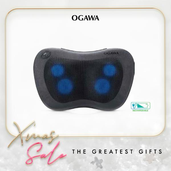 Buy Ogawa De-Luxe (Black) - Rechargeable Multipurpose Massage Pillow Singapore