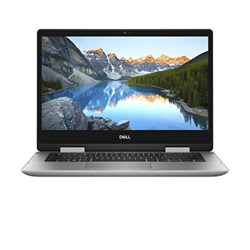 2018 Dell Touch-Screen Laptop - Inspiron 2-in-1 I5482 -7120SLV-PUS 14  360° flip-and-fold Design - Intel Core i7-8565U - 16GB Memory - 512GB Solid State Drive - Windows 10 - Silver