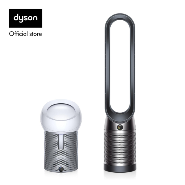 Dyson Pure Cool™ TP04 Air Purifier Tower Fan Black Nickel with Pure Cool Me™ Personal Air Purifier Fan White Silver worth $499 Singapore