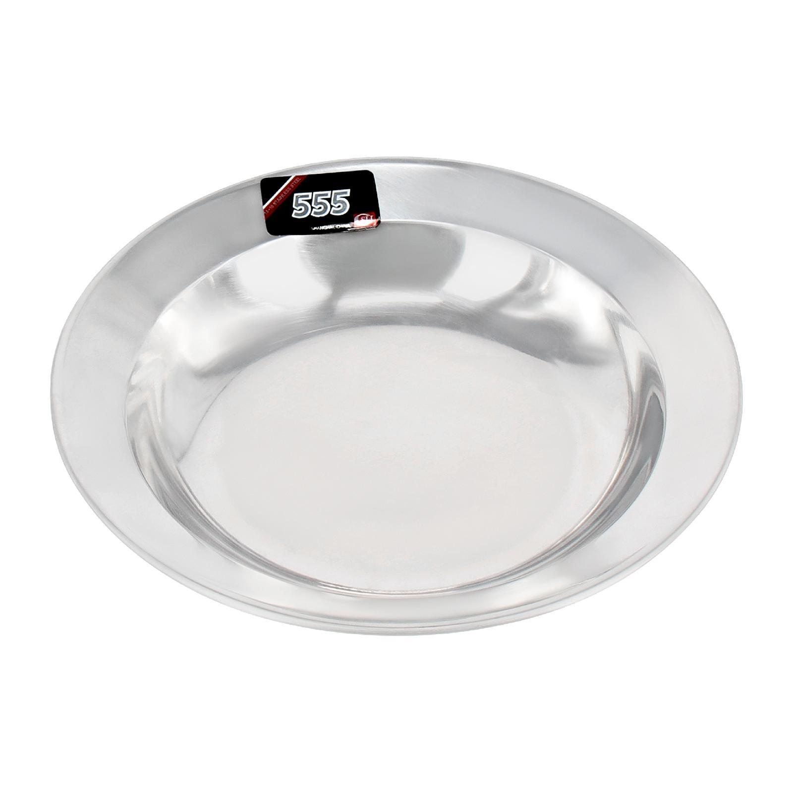 555 Stainless Steel Soup Plate 20 CM