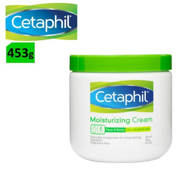 Buy [Single/Bundle Pack] Cetaphil Face & Body Moisturising Cream 453g Singapore