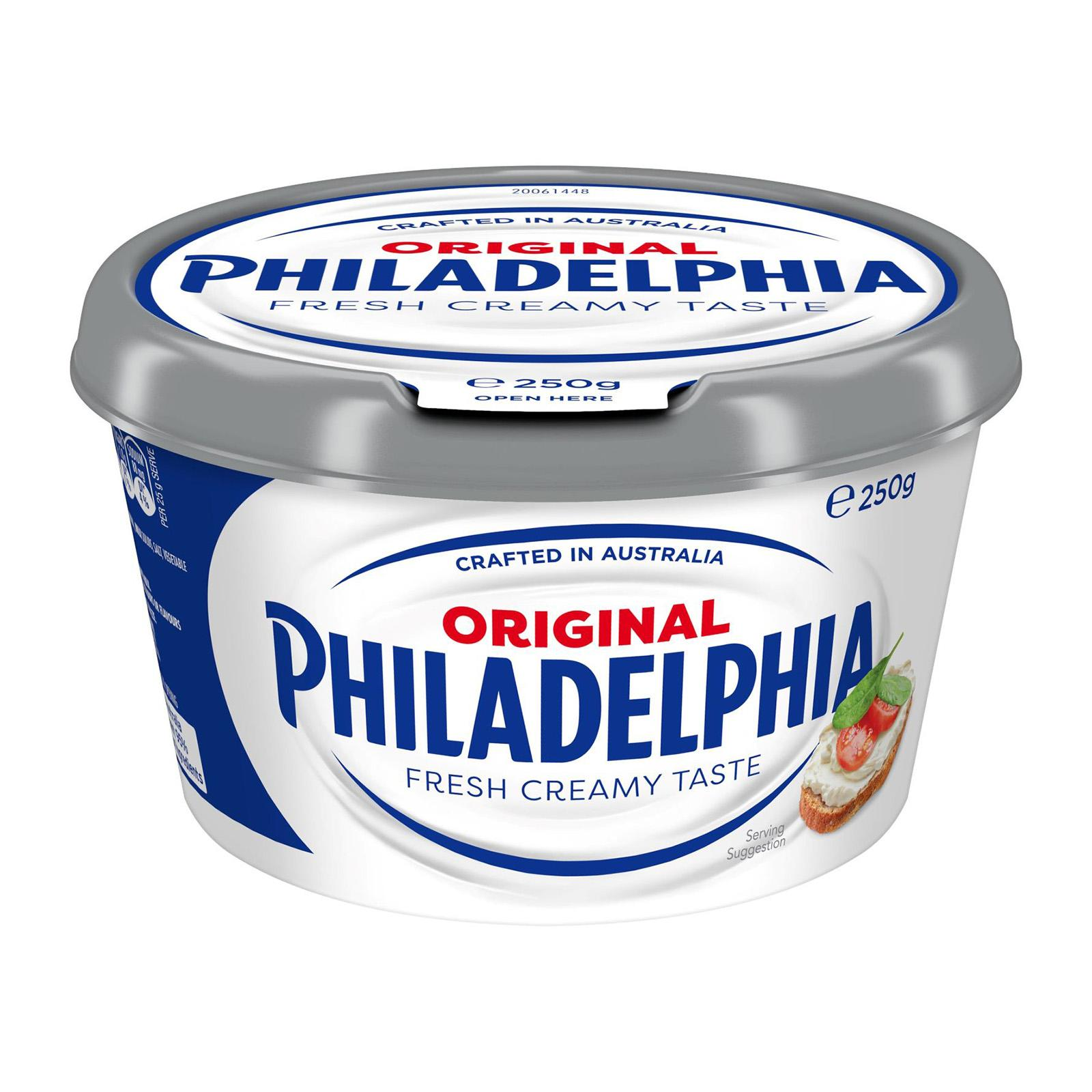 Philadelphia Spreadable Cream Cheese Tub 250g