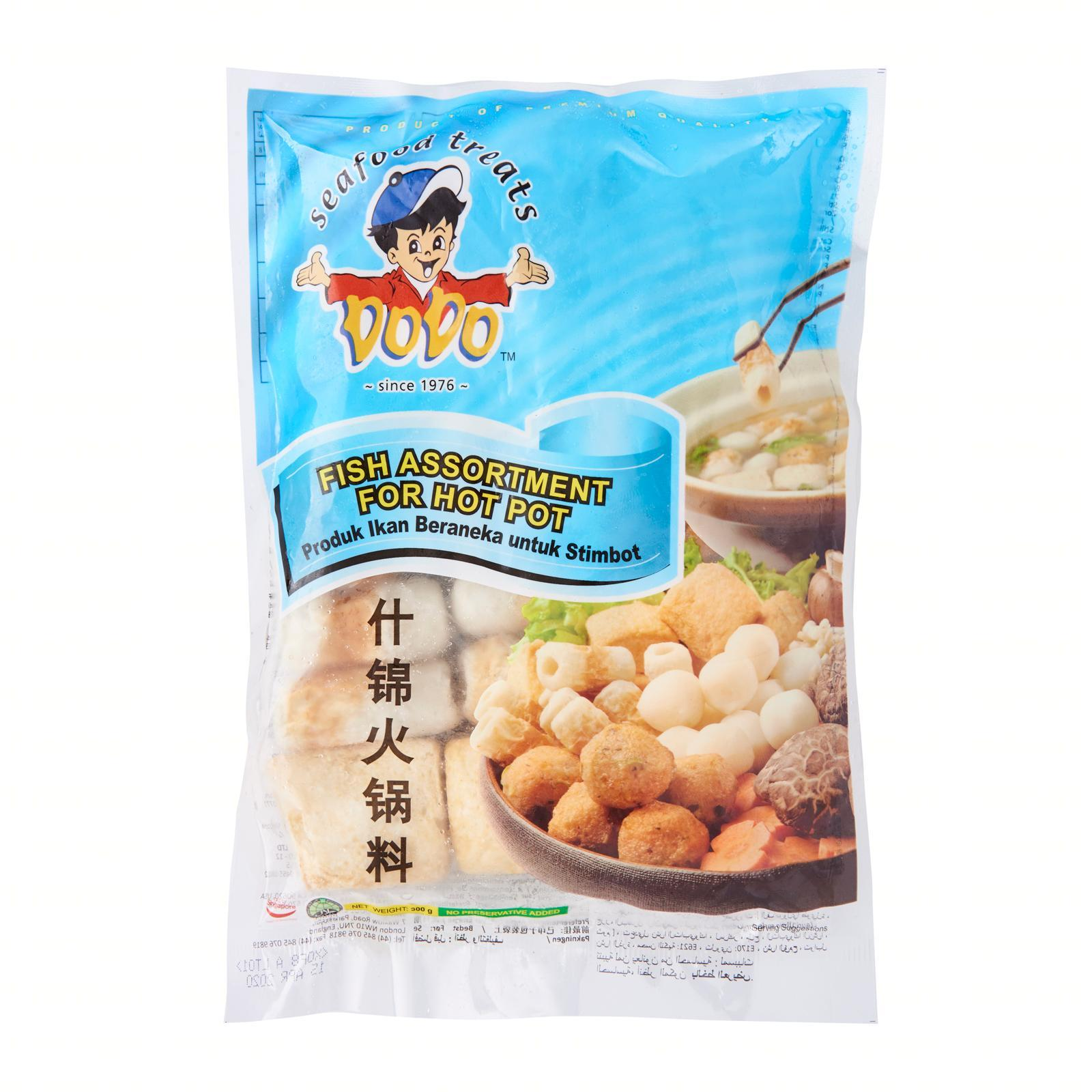 Dodo Fish Assortment For Hot Pot - Frozen By Redmart.