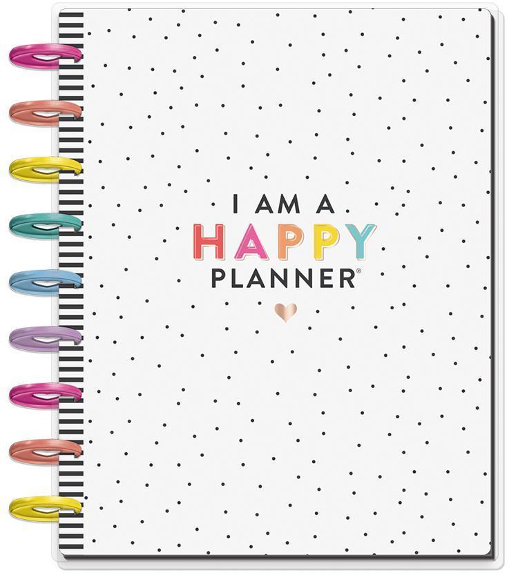 I am a Happy Planner 2019 - 2020 Medium Happy Planner, 18 Months (July  2019-December 2020)