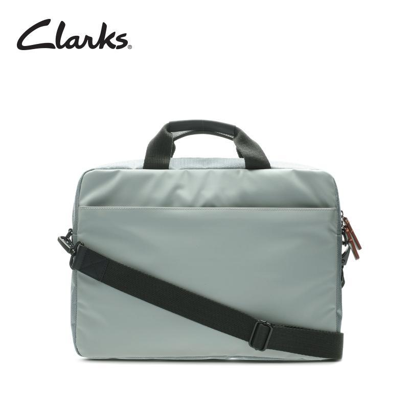 CLARKS Travel Lift Grey Combi Mens Bag