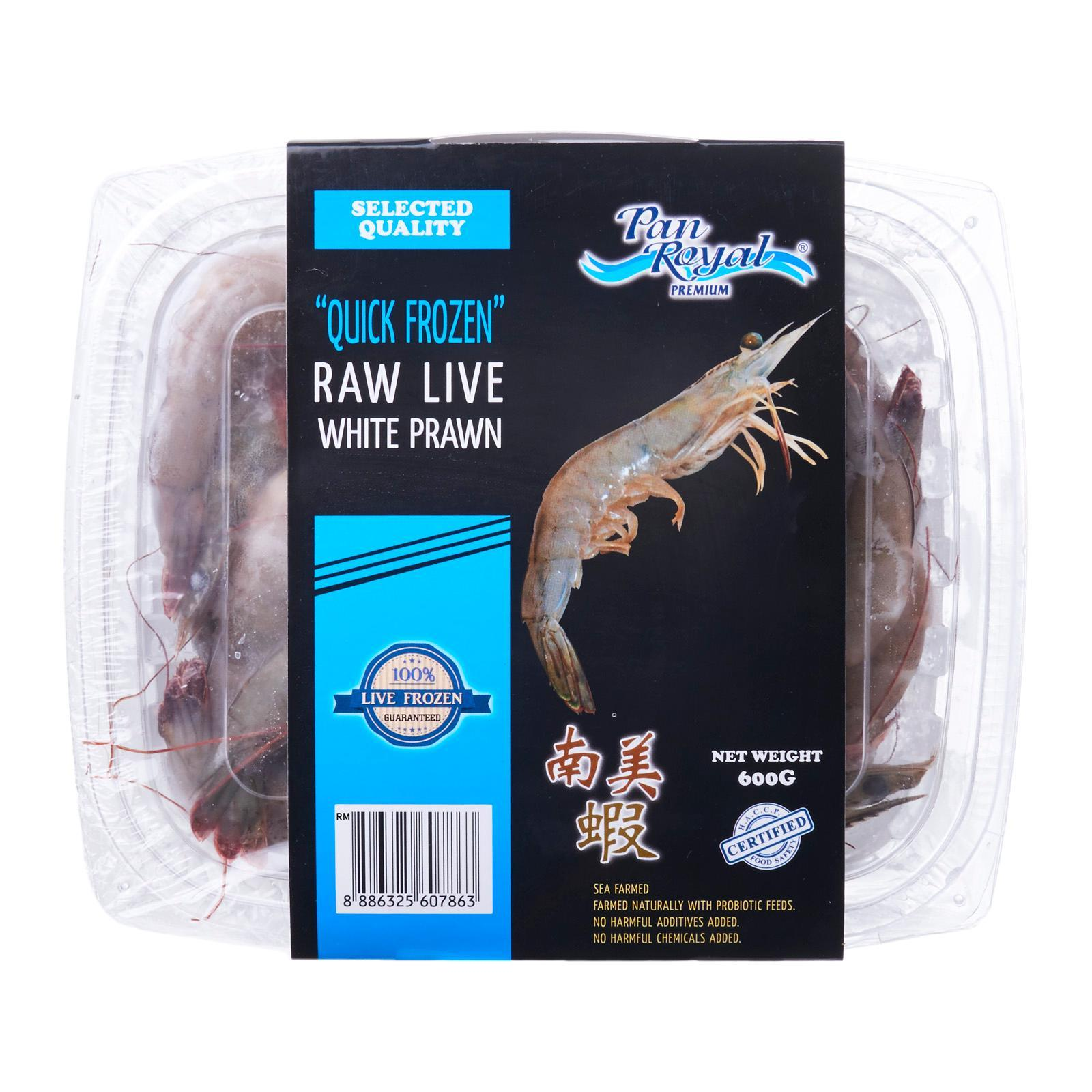 Pan Royal Raw Live Prawn 41/50 - Frozen