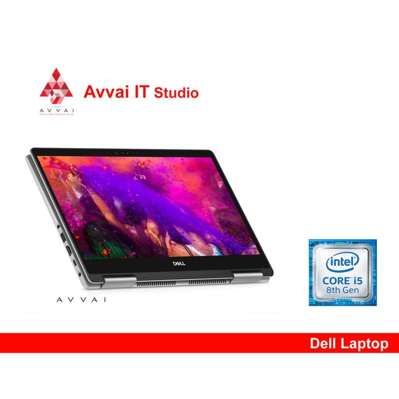 [LATEST ARRIVAL- 2018] DELL 8th Generation Inspiron 13 5000 Series 2-in-1 -5379- i5-8550U (6MB Cache, up to 3.4 GHz) 8GB, DDR4, 2400MHz 1 TB HDD 5400 RPM Windows 10 Home 13.3-inch FHD IPS Truelife LED-Backlit Narrow Border Touch DisplayEra Gray Cover