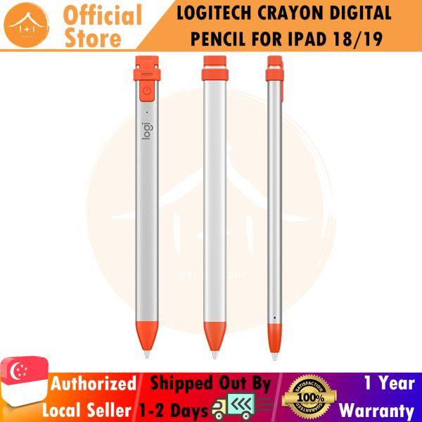 "Logitech Crayon Digital Pencil For Ipad Pro 12.9-Inch (3Rd Gen), Ipad Pro 11-Inch, Ipad (7Th Gen), Ipad (6Th (Gen), Ipad Air (3Rd Gen), Ipad Mini 5, Ios 12.2 And Above €"" (Orange)"