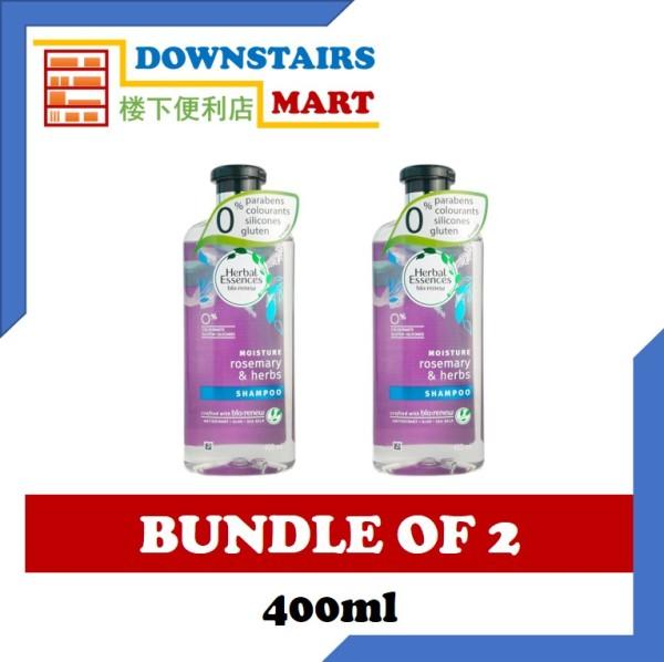 Buy [Bundle of 2] Herbal Essence Rosemary & Herbs Shampoo 400ml x 2 Singapore