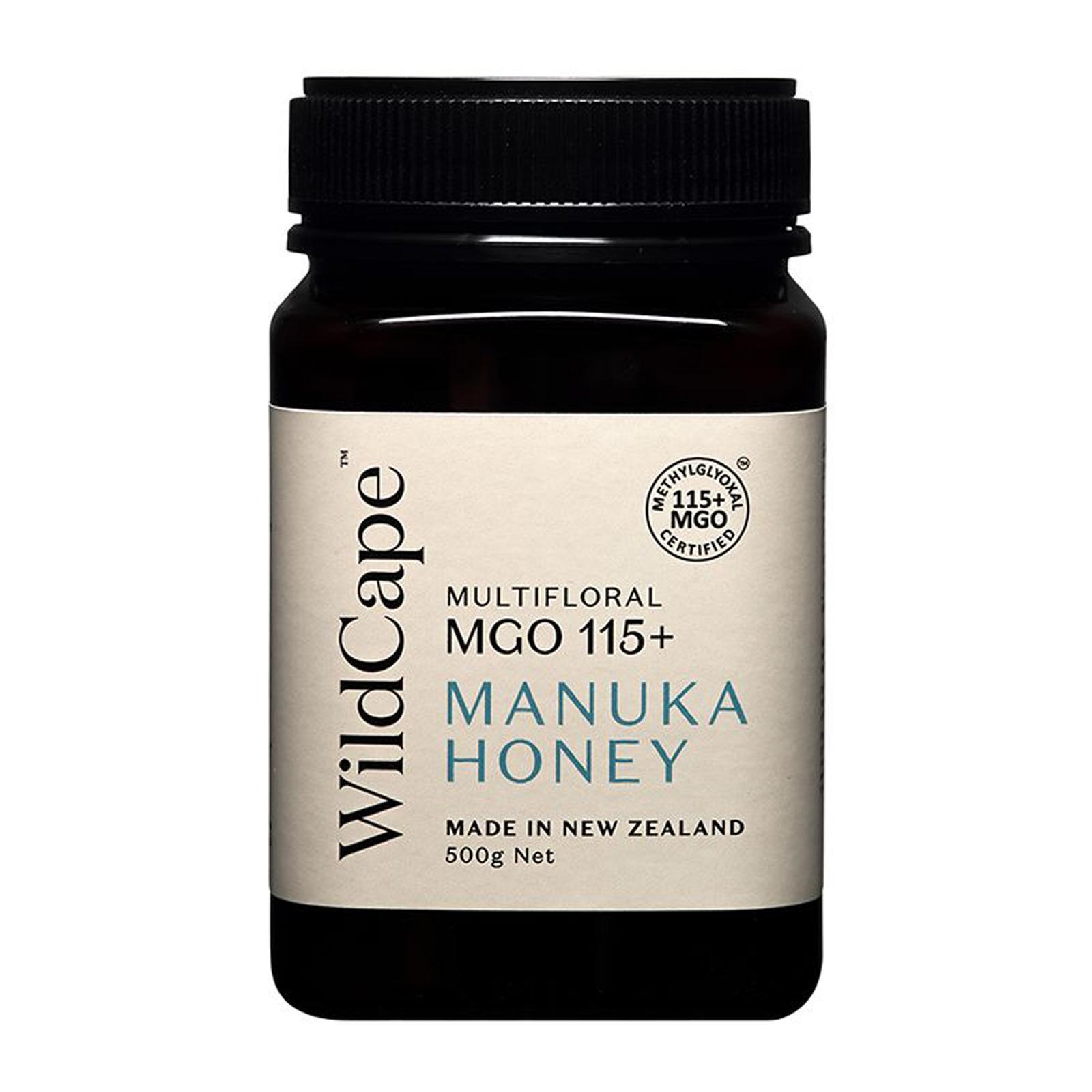 WildCape Mgo 115+ Manuka Honey - By Nature's Nutrition
