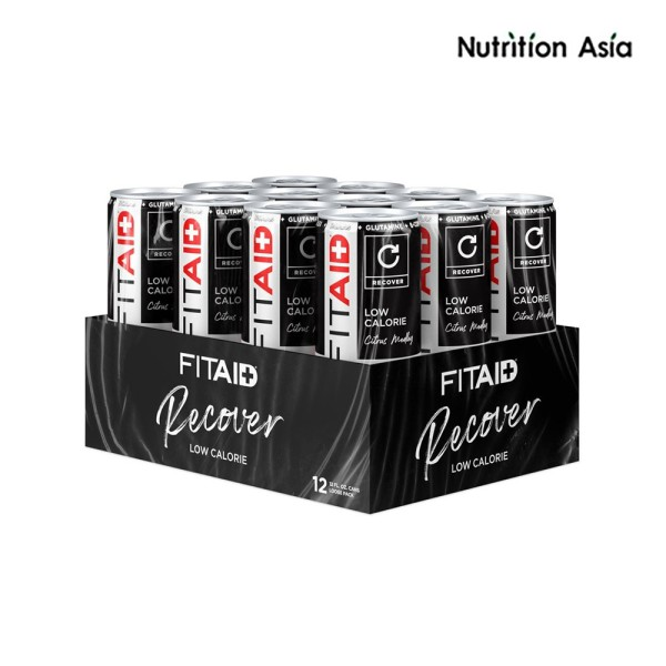 Buy FITAID Citrus Medley - RECOVER (12 cans) Singapore